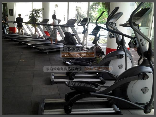 上海某酒店健身房解决方案实施
