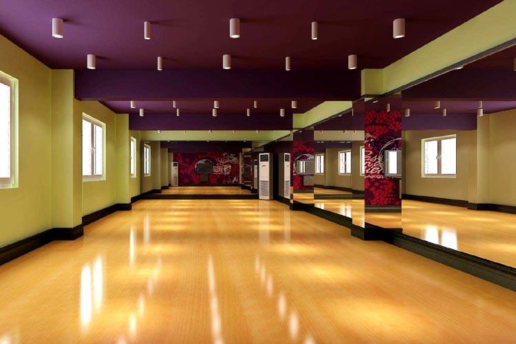 承接各类型舞蹈场馆形象前卫设计 舞蹈工作室设备安装