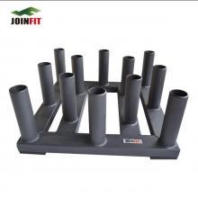 JOINFIT捷英飛 杠鈴桿底座 健身 杠鈴豎放支架  健身器材12孔裝