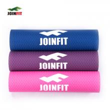 JOINFIT捷英飞 瑜伽训练垫 6mm TPE 环保无味瑜伽垫 仰卧起坐垫 男女用垫 防滑健身垫