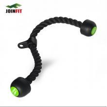 JOINFIT捷英飞 拉力绳 超长三头肌  肌肉训练绳 力量训练专用 68厘米长 黑色