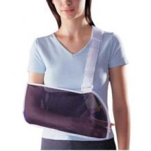 LP 欧比护具 LP839透气网袋可调式手臂吊带 上肢外伤固定 运动护具 护理防护 蓝白色