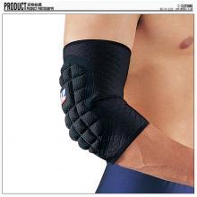 LP 欧比护具 LP561CP 高效蜂巢式吸震护肘 篮球护臂 黑色单只装 运动护...