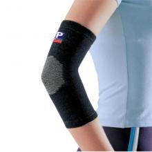 LP 歐比護具 LP989護肘 奈米竹炭負離子遠紅外線納米 黑色單只裝 運動護具 籃球護具 黑色單只裝