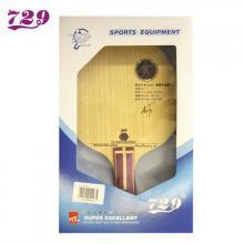 729乒乓球拍 弧圈快攻型底板L-5 7层纯木 横板/直板
