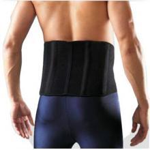 LP护腰运动护具适合高背四条弹性钢片LP772 保暖护腰 篮球 羽毛球护具装备 黑色