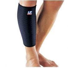 LP 护具 LP545CP透气型护小腿护腿 运动护具 篮球护具装备 黑色单只装 黑色单只装