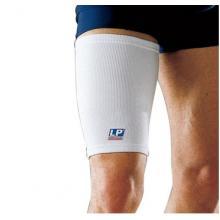 LP 欧比护具 LP602护大腿 运动护具护腿 简易薄款透气保暖 护套预防肌肉拉...