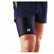 LP 护具 LP515CP 运动护具 透气型大腿束套 护腿 运动康复训练用 黑色单只 黑色