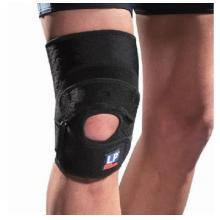 LP519CA护膝 高效髌腱加压膝部护具 硅胶垫片髌腱加压 黑色单只装