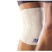 LP 欧比护具 LP639护膝 交叉式膝关节护套(透气 保暖 支撑 舒适) 白色单只装