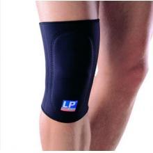 LP 欧比护具LP707前垫片吸震护膝 垫片吸震型 防撞稳定膝关节 黑色单只装