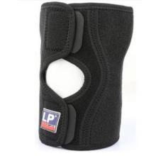 LP 护膝 侧弧型膝部稳定护套 LP558CA 护膝护套半月板损伤 黑色单只装