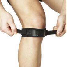 LP581 双重加压髌骨带 双重加压 篮球护膝 专业级防护 黑色单只装 黑色单只装