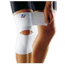 LP护具 支撑疼痛无力部位 健美举重 弹性绷带护膝LP651膝部含棉弹性绷带 白色单只装