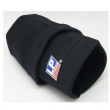 LP647护膝运动护具透气保暖篮球羽毛球运动四面伸缩型 黑色单只装