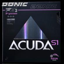 DONIC多尼克ACUDA S1 S2 S3乒乓球胶皮套胶反胶 德国