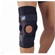 LP欧比护具 LP510CP 恢复型护膝 高效双枢纽式钢片护膝 黑色单只装