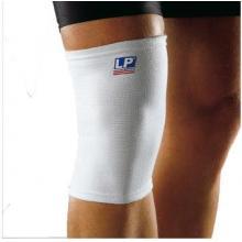 LP护膝运动护具膝盖束套透气型保护膝LP601 白色