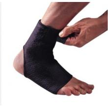 LP 欧比护具 LP728CA高透气前开可调式护踝 透气材料 扭伤防护 黑色单只装
