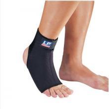 LP 护具 LP528CP高透气型前开可调式护踝护脚背 保暖透气 黑色单只装