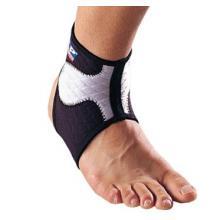 LP 护具LP护踝LP504高透气型踝部护套 防扭伤护踝 篮球队用 黑灰色单只装