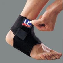 LP 护踝 篮球扭伤防护 护踝 羽毛球护脚踝 足球运动护LP768 黑色单只装 ...