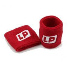 LP662羽毛球网球保健身运动护手腕吸汗带毛巾护腕护具2只
