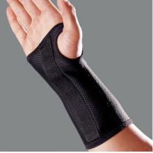 LP 护具手腕扭伤 内置固定铝片LP535护腕正品扭伤护腕手套透气 加长护腕