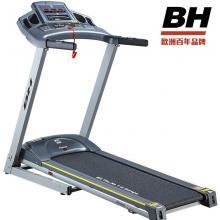欧洲百年品牌 西班牙BH必艾奇跑步机 必艾奇G6481/G6482家用静音折叠 电动 减震 半安装 可连苹果设备 跑遍全球 环保节能耗电低 健身器材