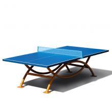 DHS/红双喜 比赛标准训练乒乓球台 室外双拱形防水乒乓球桌OT8686