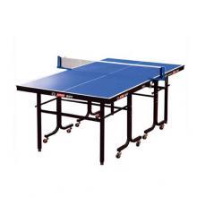DHS紅雙喜乒乓球桌家庭娛樂小型兒童老人乒乓球臺防水耐磨TM616貼面型