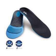 LP307 脚底加厚垫片 减轻行走运动压力 足弓矫正鞋垫护具 黑色一双