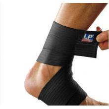 LP634護腳踝彈性繃帶 LP護踝 自粘彈性彈力繃帶 保健身拳擊散打運動護具 黑...