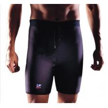 LP 高透气型运动束裤LP712CA 预防伤害使用 肌肉拉伤 黑色