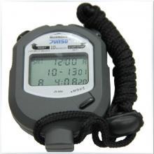君斯达JS-506 三排大显示10道记忆计时器 电子防水运动秒表 田径类用表