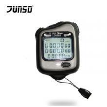 君斯达JUNSD运动计时器电子秒表60道记忆JS-5202 黑色
