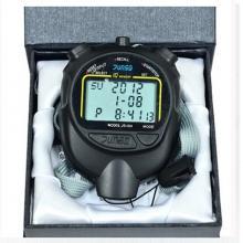 君斯达JS-604运动秒表 10道记忆 三排大屏显示 学校专业秒表 防水/防震/防滑结构
