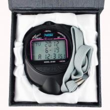 君斯达秒表 JS-605 三排显示30道秒表 记忆运动电子秒表 防水、防震、防滑结构