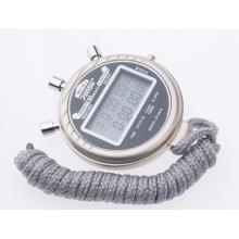 君斯达JS-6619A高级秒表 高档运动秒表 60道记忆双显、倒计时、温度计 60道6619