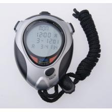 君斯达100道JS-7064高级秒表 三排大显示 倒计时器 节拍器 (100道记忆)