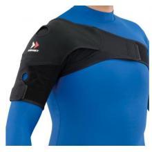 赞斯特 ZAMST肩部固定带 专业运动护肩 保护肩部 防止受伤 黑色