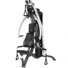 TUNTURI唐特力欧洲第一品牌商用高端进口大型多功能健身器材家用力量组合器械健身房单人综合训练器 单人站综合训练器