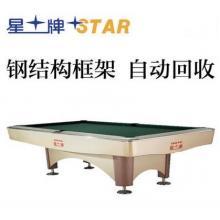 XW138-9B 正品星牌STAR 花式九球台球桌 标准尺寸桌球台