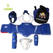KANGRUI康瑞 成人儿童加厚跆拳道护具KT53 全套五件套 比赛套装成型头盔