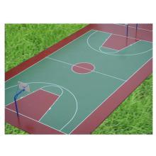 球场材料硅PU 室内地胶 PU塑胶跑道 篮球场地胶施工 网球排球羽毛球乒乓球场地...