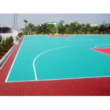 悬浮式拼装地板 悬浮地板 运动拼接地板 室内外篮球场地地板 拼装运动地板
