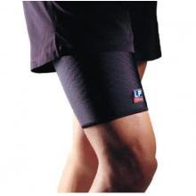 LP 欧比护具 LP705CA护大腿 减缓大腿肌肉负担高透气型大腿护套 运动护具 篮球装备 黑色单只装