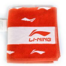 李宁 LINING 超大运动毛巾 国家队 全棉吸汗 羽毛球国家队专用 红色