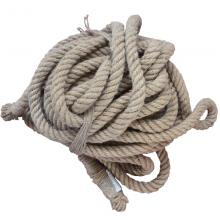 JOINFIT捷英飞 麻质 拔河绳 30米27米22米15米 拔河绳子粗麻绳 拔...